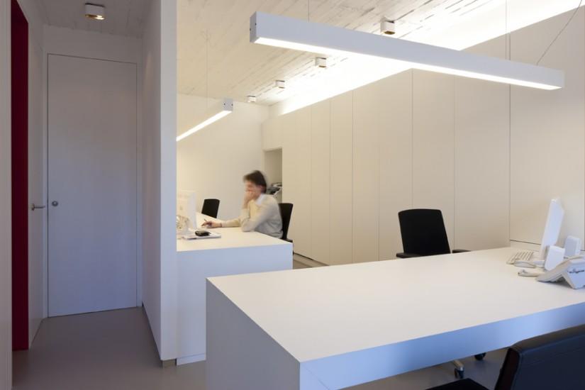 Ontwerp kantoor architectenbureau s3architecten mechelen - Coin bureau ontwerp ...