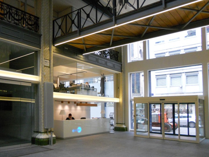 Interieur en inrichting kantoren en diensten kantoren - Photo deco kantoor ...