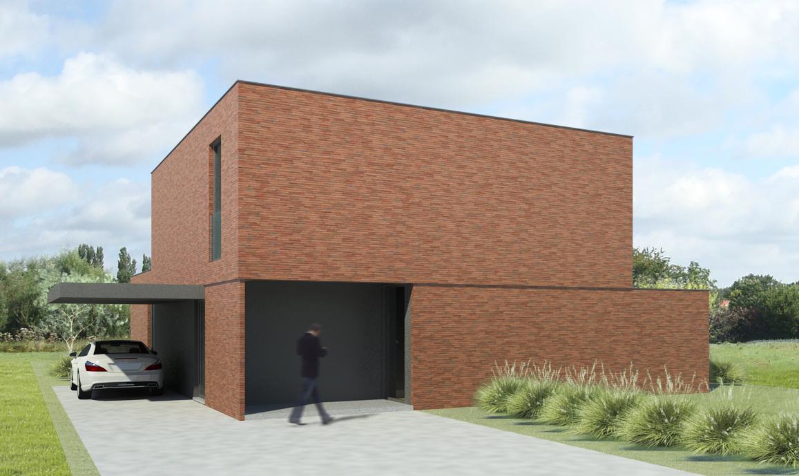 Woningen nieuwbouw vrijstaande woning s3architecten for Moderne vrijstaande woning