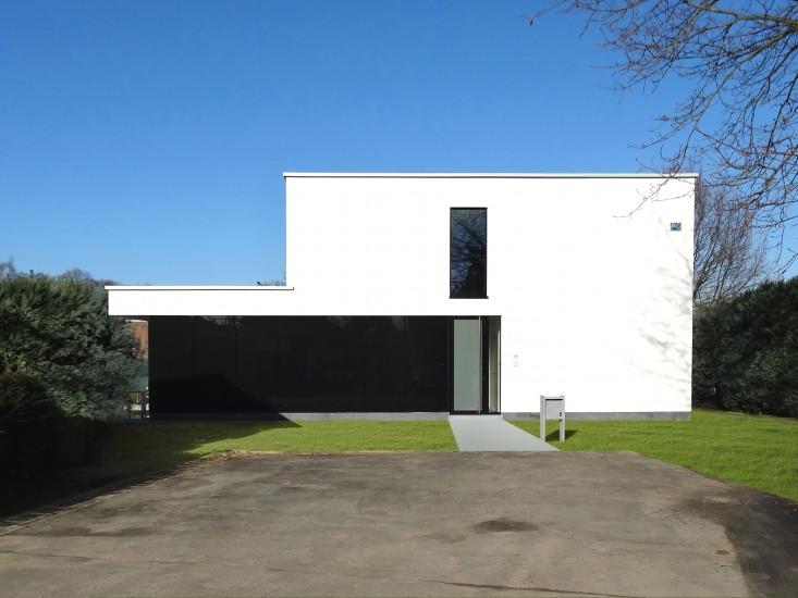 Woningen nieuwbouw u0026gt; Vrijstaande woning - S3Architecten, Mechelen