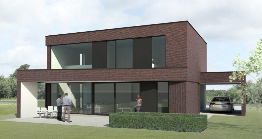 Woningen nieuwbouw vrijstaande woning s3architecten for Nieuwbouw vrijstaande woning