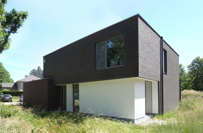 S3A_vrijstaande woning_donkere gevelsteen_keerbergen_01