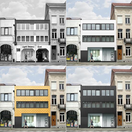 S3A verbouwing winkel en woning Mechelen 01