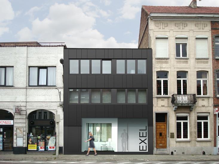 S3A verbouwing winkel en woning Mechelen 04