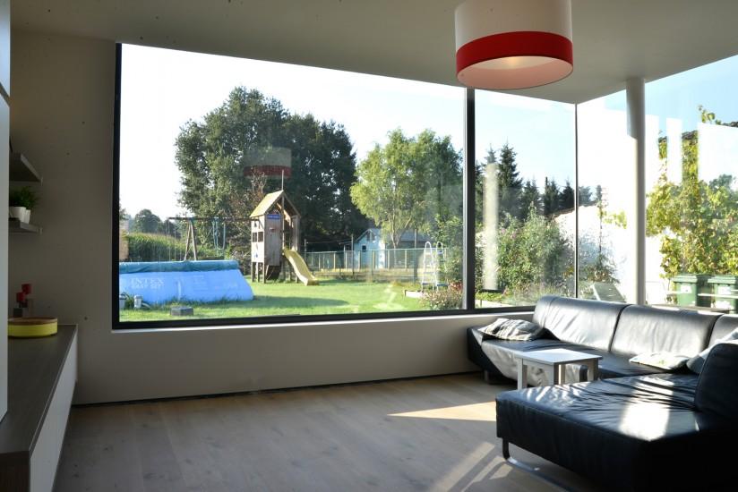 Uitbreiding woning met gevelbeplating te Grembergen 07