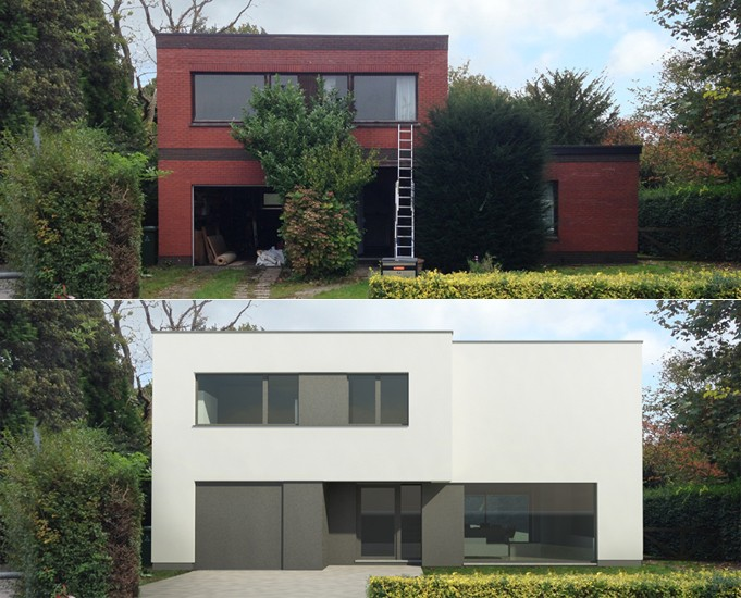 S3A_verbouwing vrijstaande woning te Wilrijk 01
