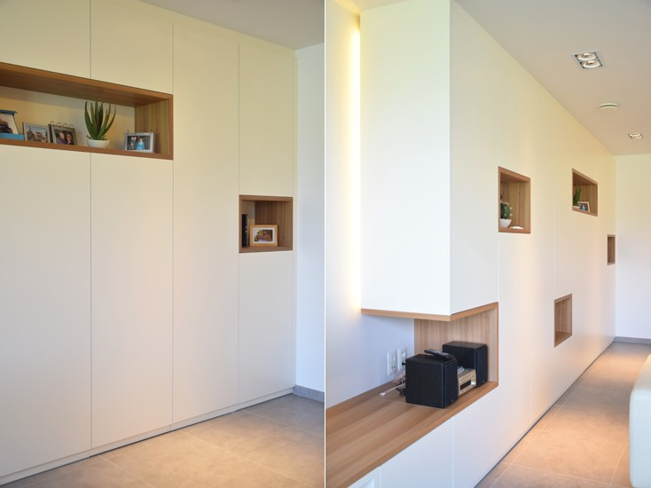 Interieur en inrichting interieur woning s3architecten for Interieur mechelen