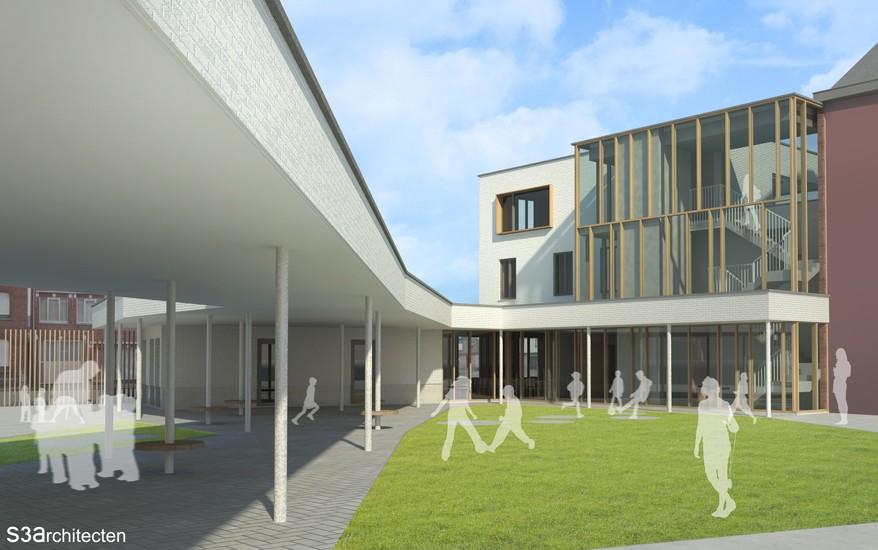 S3A verbouwing vrije basisschool Boortmeerbeek 02