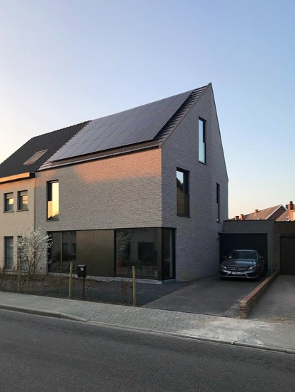 S3A villa in grijze gevelsteen Mechelen 06