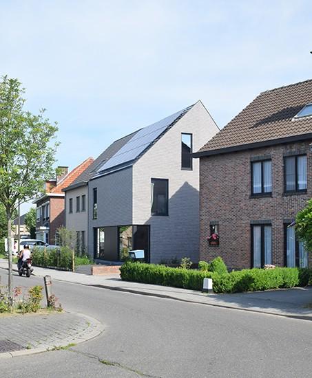 S3A villa in grijze gevelsteen Mechelen 09