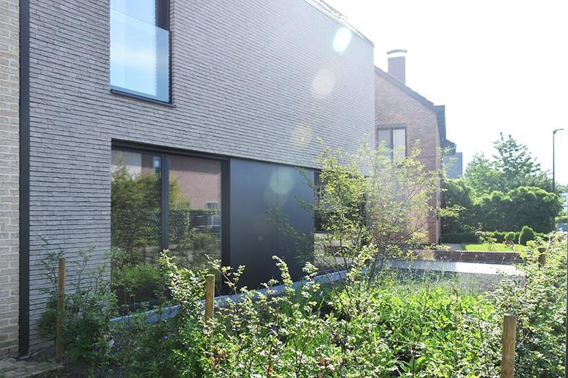 S3A villa in grijze gevelsteen Mechelen 11