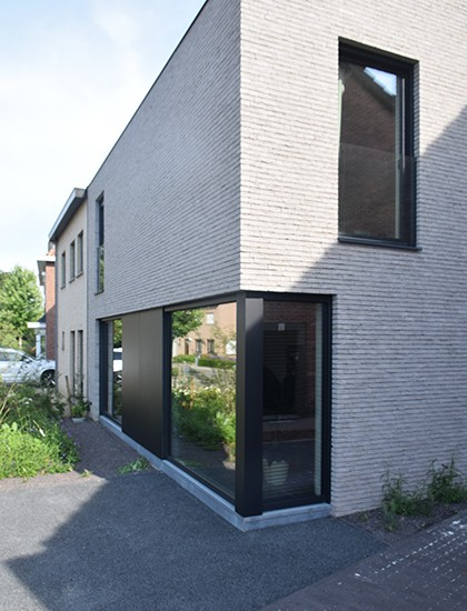 S3A villa in grijze gevelsteen Mechelen 12