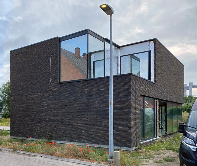 S3A_moderne woning donkere gevelsteen_Willebroek_09