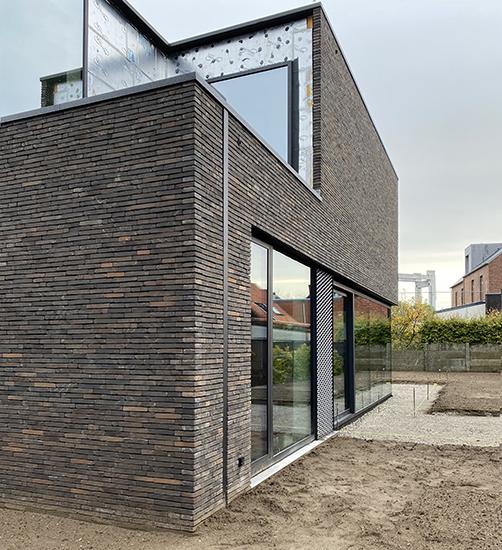 S3A_moderne woning donkere gevelsteen_Willebroek_12