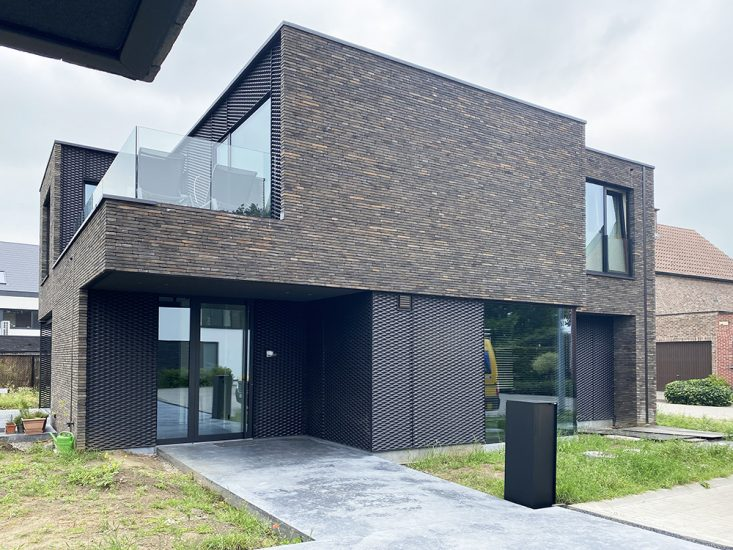 S3A_moderne woning donkere gevelsteen_Willebroek_15