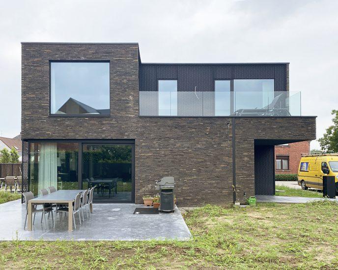 S3A_moderne woning donkere gevelsteen_Willebroek_16