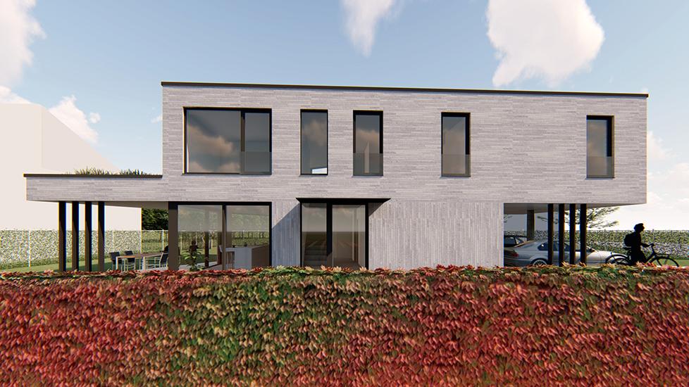 S3A_vrijstaande woning lichtgrijze genuanceerde gevelsteen 01
